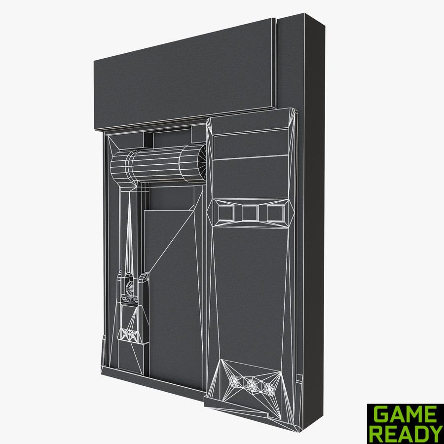 Loading Bay royalty-free 3d model - Preview no. 7