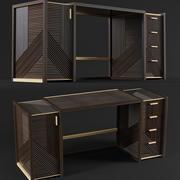 Mesa de Hampton 3d model