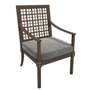 Chair-001 Quadratl Grande ArmChair 3d model