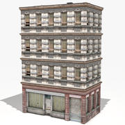 Wohnhaus 31 Low Poly 3d model