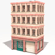 Wohnhaus 34 Low Poly 3d model