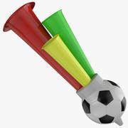 サッカーホーン 3d model