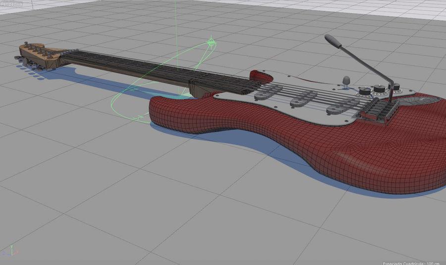 Elektrische gitaar royalty-free 3d model - Preview no. 21