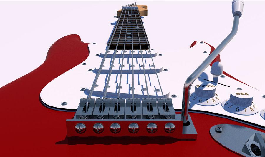 Elektrische gitaar royalty-free 3d model - Preview no. 9