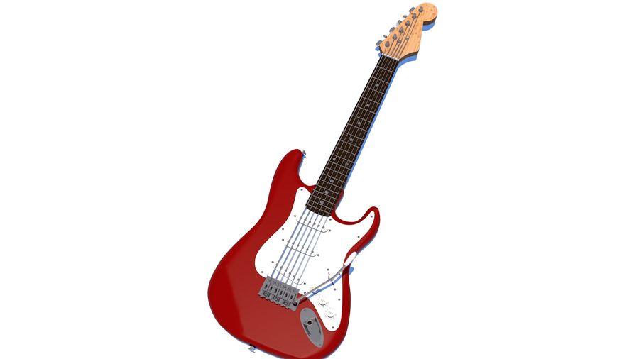 Guitare électrique royalty-free 3d model - Preview no. 31