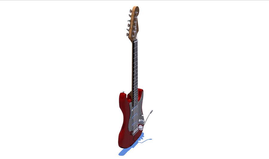 Guitare électrique royalty-free 3d model - Preview no. 27
