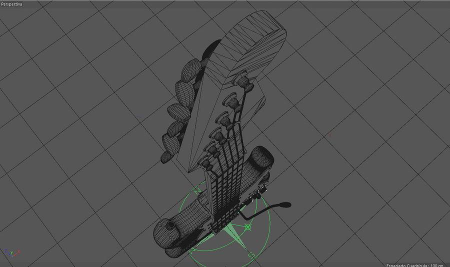 Guitare électrique royalty-free 3d model - Preview no. 15