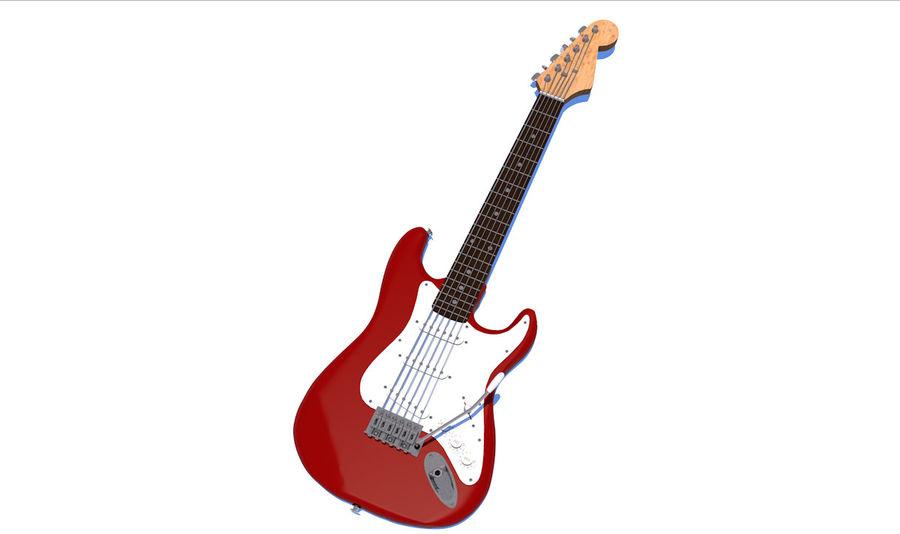 Elektrische gitaar royalty-free 3d model - Preview no. 24