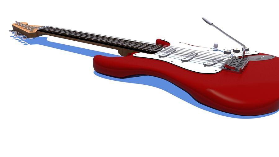 Elektrische gitaar royalty-free 3d model - Preview no. 4