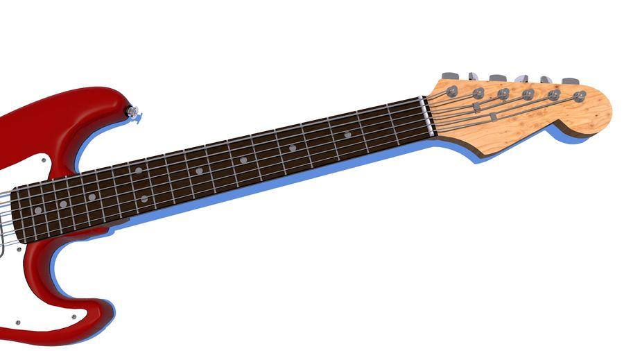 Guitare électrique royalty-free 3d model - Preview no. 26