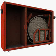 Пожарный шланг 3d model