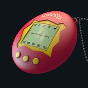 Jouet à main Tamagotchi 3d model