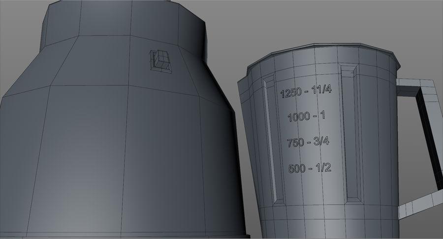 믹서기 L004 royalty-free 3d model - Preview no. 13