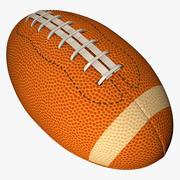 美式足球球L011 3d model