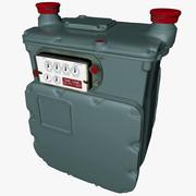 GAS METER AC630 L019 3d model