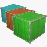Collezione Cargo Containers V2 3d model