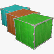 Cargo Containers Collectie V2 3d model