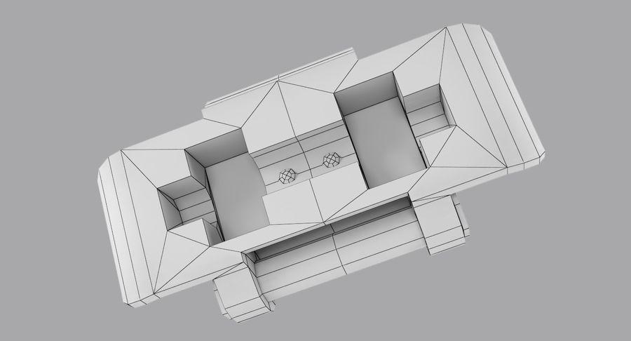 坦克跟踪标记 royalty-free 3d model - Preview no. 8