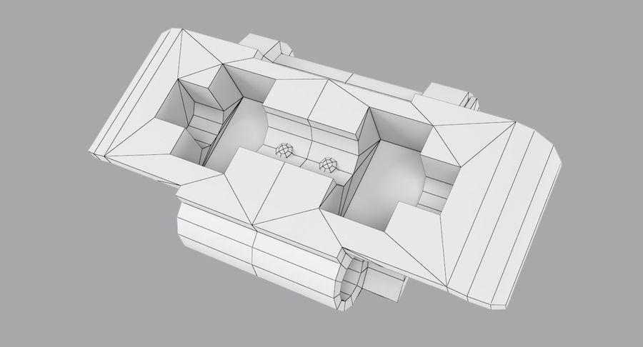 坦克跟踪标记 royalty-free 3d model - Preview no. 7