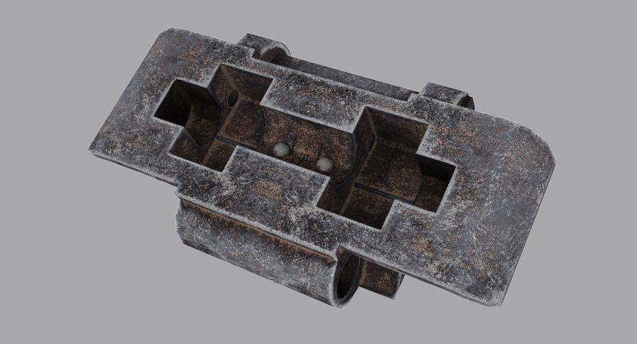 坦克跟踪标记 royalty-free 3d model - Preview no. 3