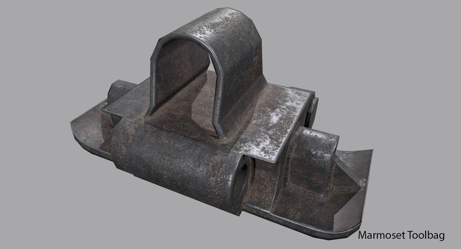 坦克跟踪标记 royalty-free 3d model - Preview no. 10