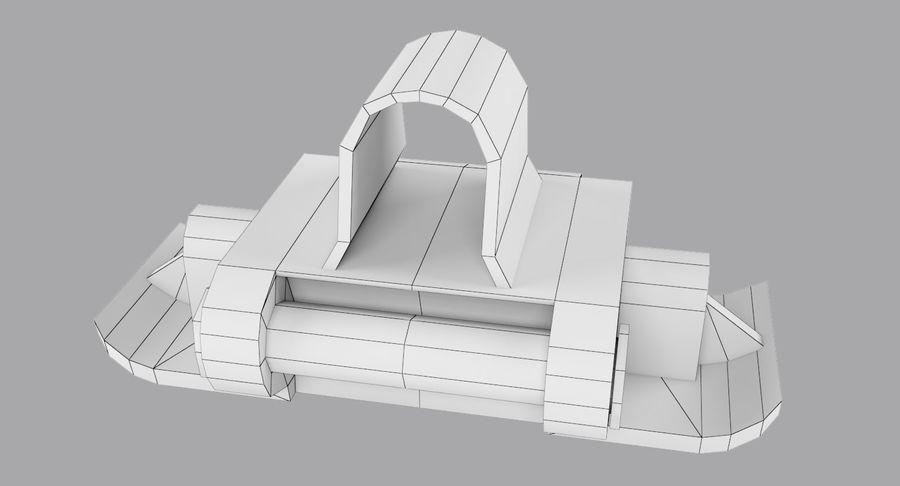 坦克跟踪标记 royalty-free 3d model - Preview no. 9