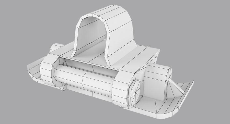坦克跟踪标记 royalty-free 3d model - Preview no. 6