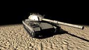 Czołg Super Conqueror 3d model