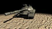 T-10M Heavy Tank 3d model