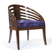 Holly Hunt - Rib Chair 3d model
