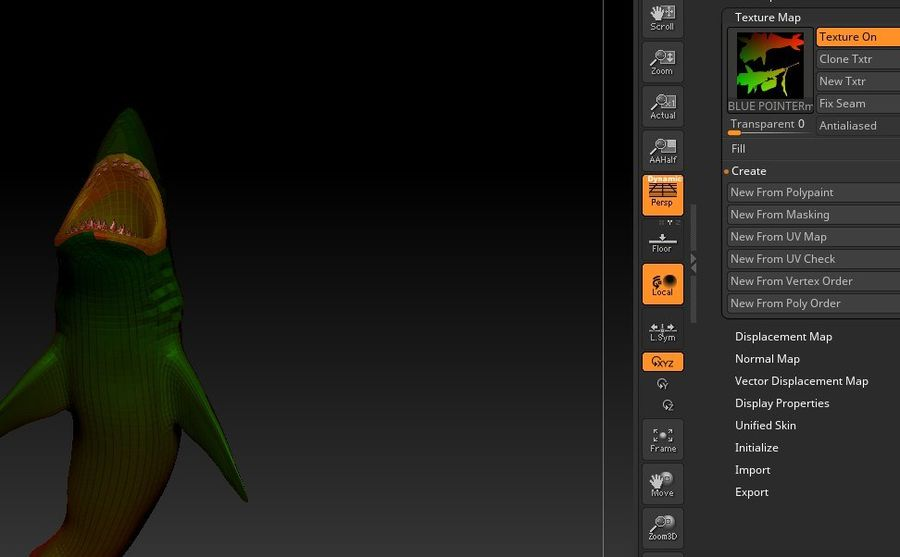 Squalo royalty-free 3d model - Preview no. 5