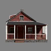 woodhouse textures 3d  model 3d model