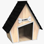 Pet Dog House 3d model