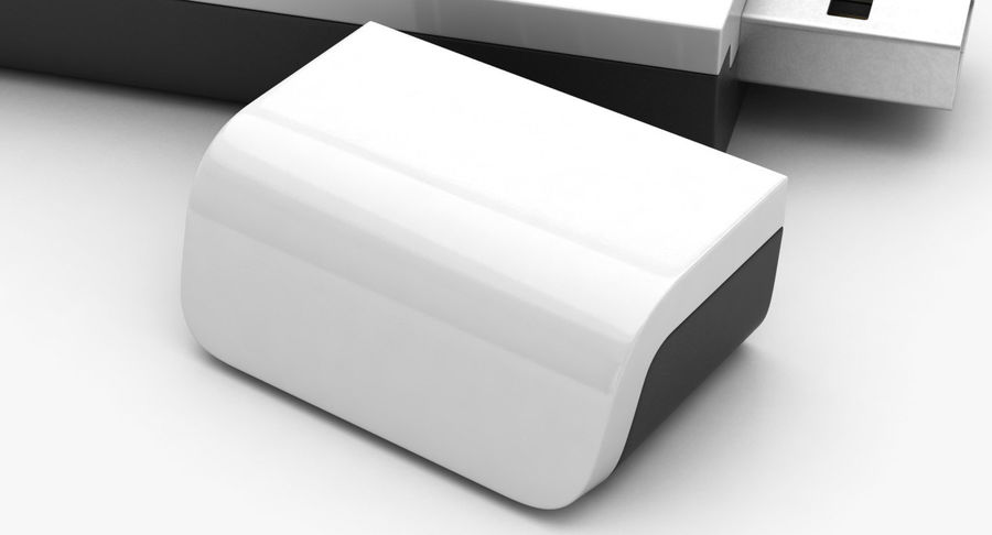 WiFi Adapter TP-Link royalty-free 3d model - Preview no. 9