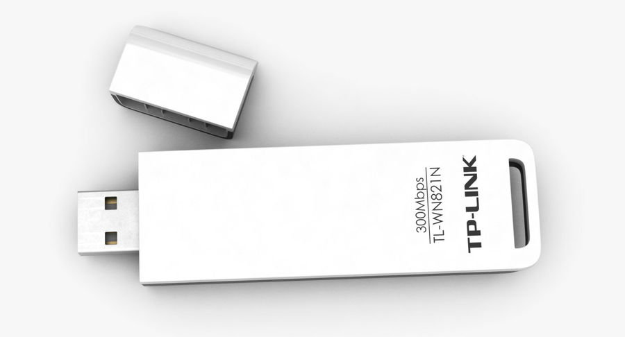 WiFi Adapter TP-Link royalty-free 3d model - Preview no. 7