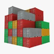 Container Pile 3d model