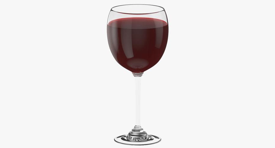 Un verre de vin royalty-free 3d model - Preview no. 2