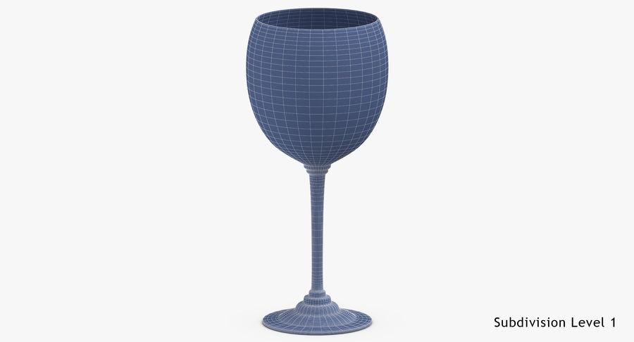 Un verre de vin royalty-free 3d model - Preview no. 18