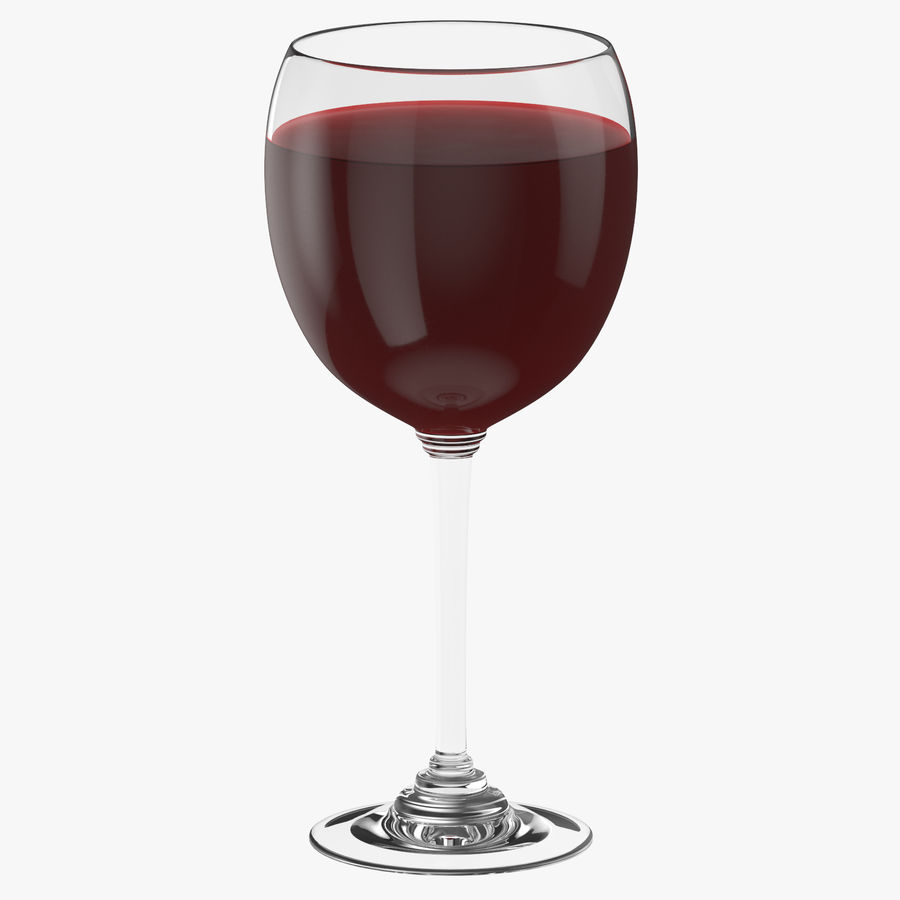 Un verre de vin royalty-free 3d model - Preview no. 1