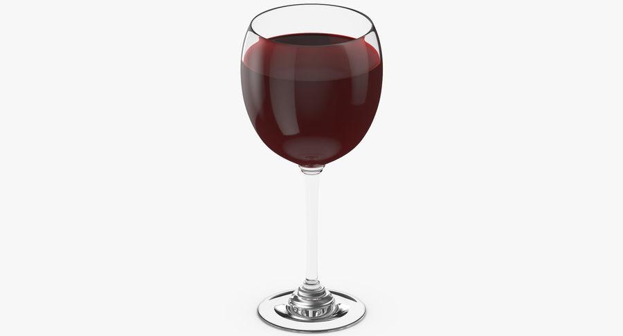 Un verre de vin royalty-free 3d model - Preview no. 5