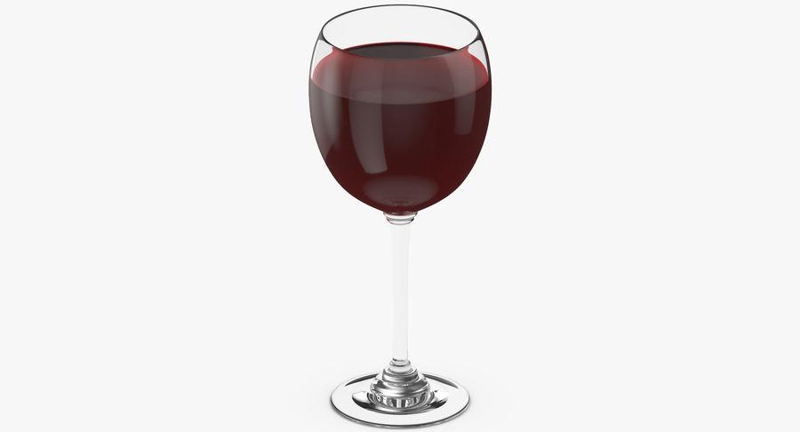 Un verre de vin royalty-free 3d model - Preview no. 4
