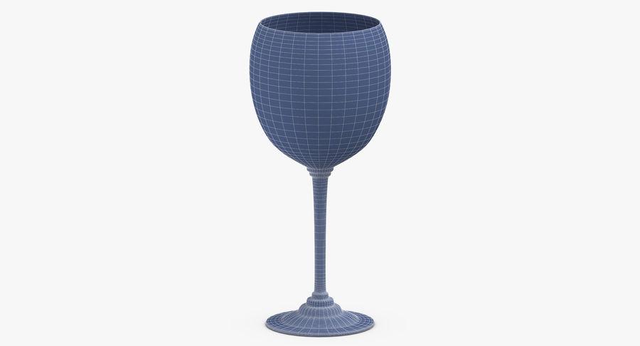 Un verre de vin royalty-free 3d model - Preview no. 12