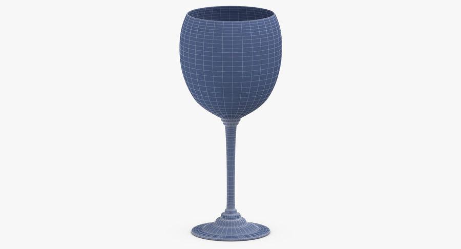Un verre de vin royalty-free 3d model - Preview no. 13