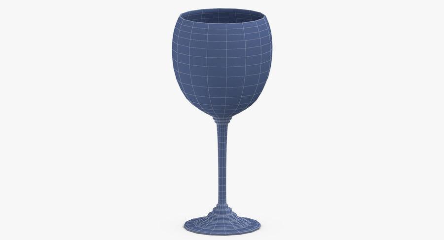 Un verre de vin royalty-free 3d model - Preview no. 15
