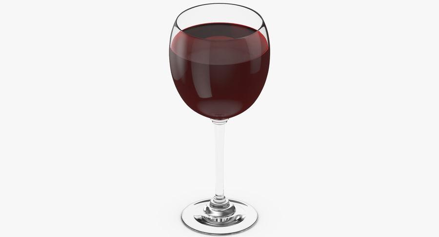 Un verre de vin royalty-free 3d model - Preview no. 6