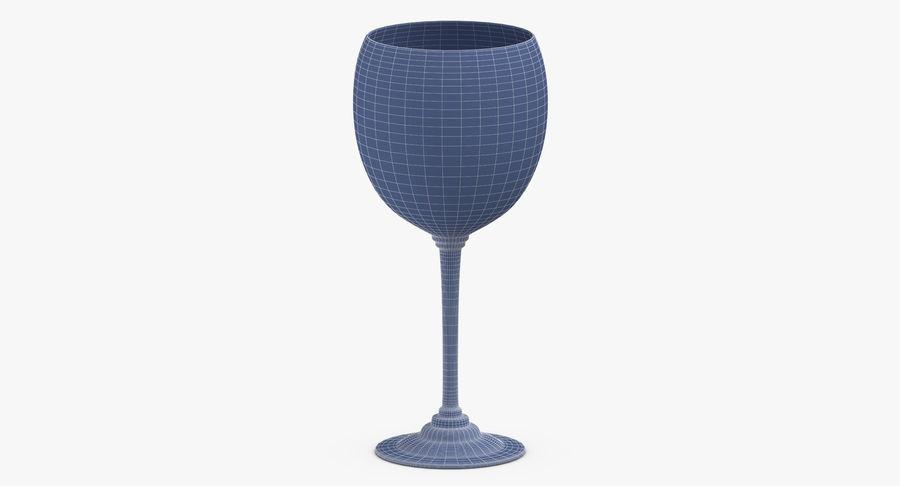 Un verre de vin royalty-free 3d model - Preview no. 11