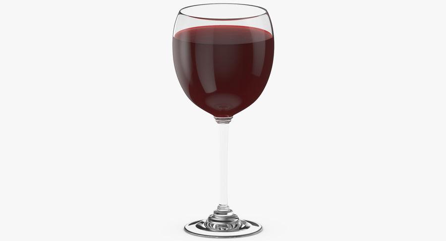 Un verre de vin royalty-free 3d model - Preview no. 7