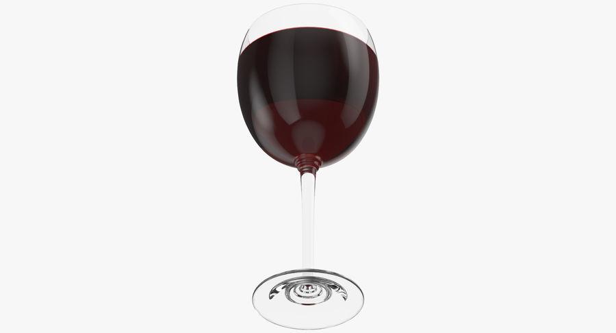 Un verre de vin royalty-free 3d model - Preview no. 9