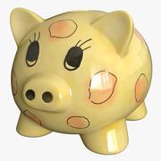 存钱罐 3d model