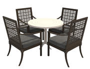 Ensemble de salle à manger-001 Chaises et table 3d model